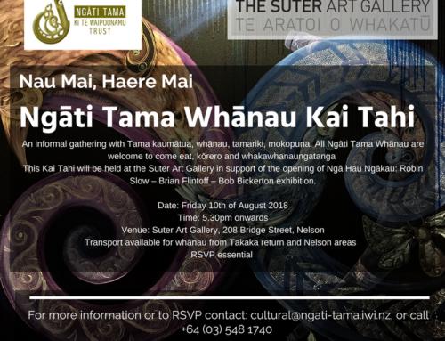 Ngāti Tama Whānau Kai Tahi!