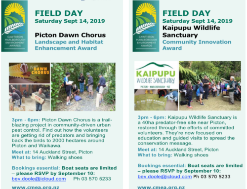Picton Dawn Chorus and Kaipupu Wildlife Sanctuary Field Day