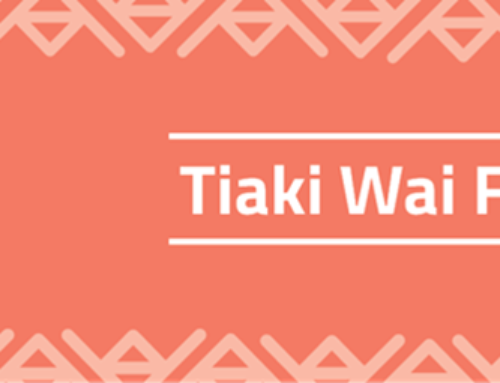 Launch of the new Tiaki Wai Fund