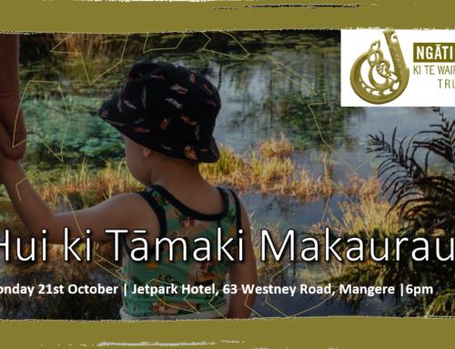 Ngāti Tama ki Te Tauihu – Whānau Engagement Hui