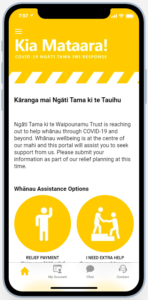 Open the Ngāti Tama Whānau App