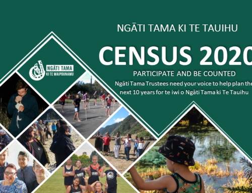 Take part in the Ngāti Tama Census 2020